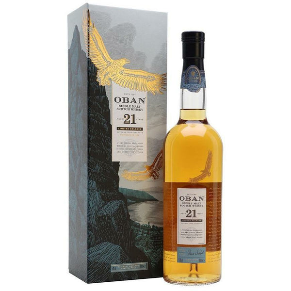 Oban  21 Year Old Cask Strength Single Malt Whisky