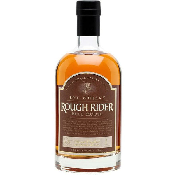 Rough Rider 'Bull Moose' Three Barrel Rye Whisky