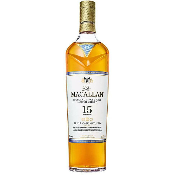 Macallan 15 Year Triple Cask Single Malt Scotch
