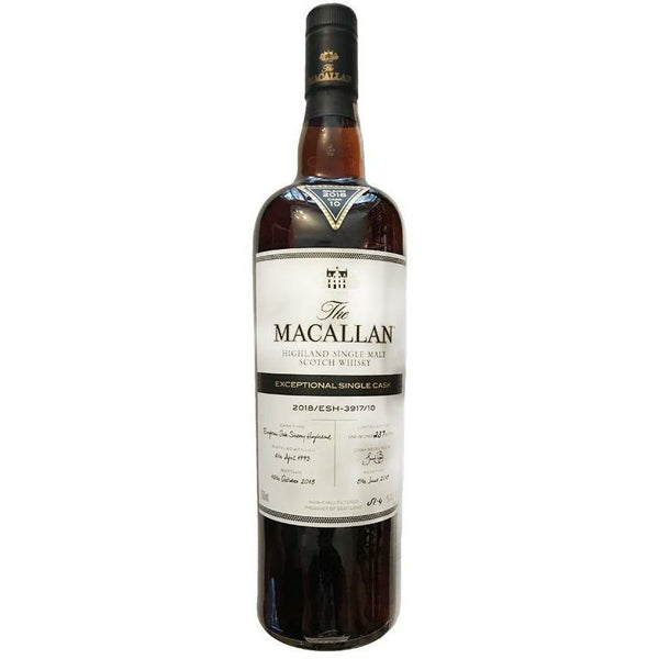 Macallan Exceptional Single Cask 2018/ESH-3917/10