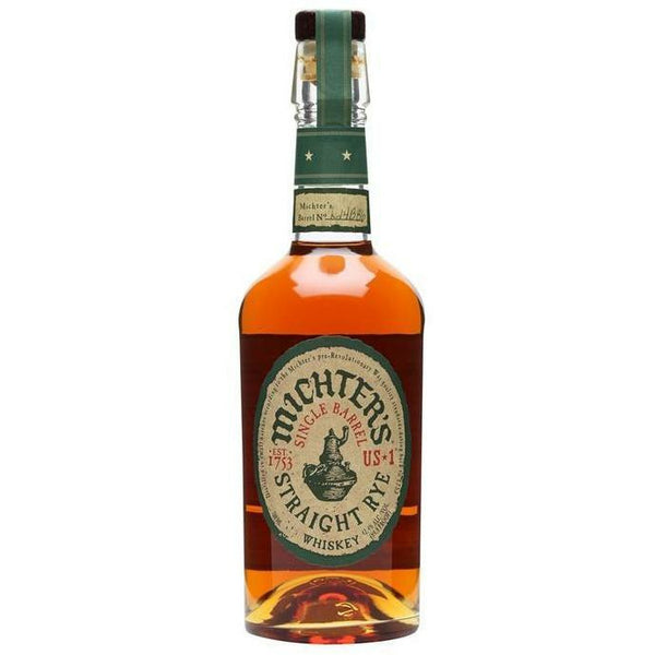 Michter's Single Barrel Straight Rye Whiskey
