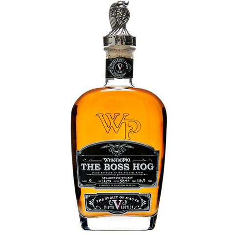 Whistlepig The Boss Hog The Spirit of Mauve 5th Ed.
