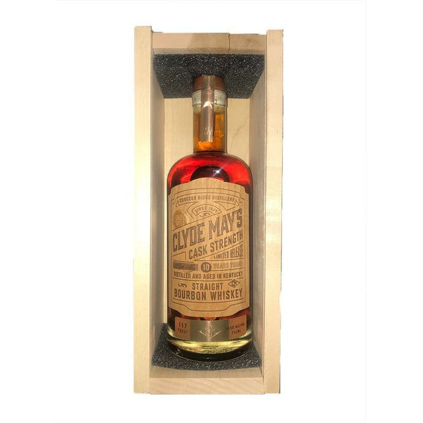 Clyde May's Cask Strength 10 Year Old Bourbon
