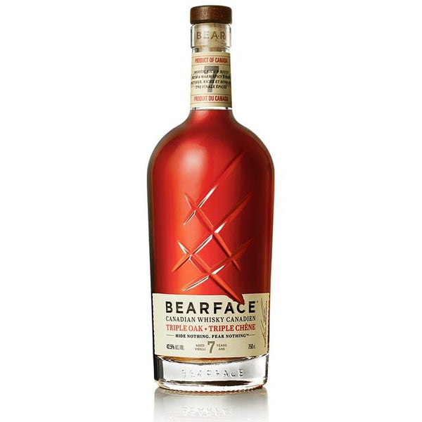 BEARFACE Triple Barrel Canadian Whisky