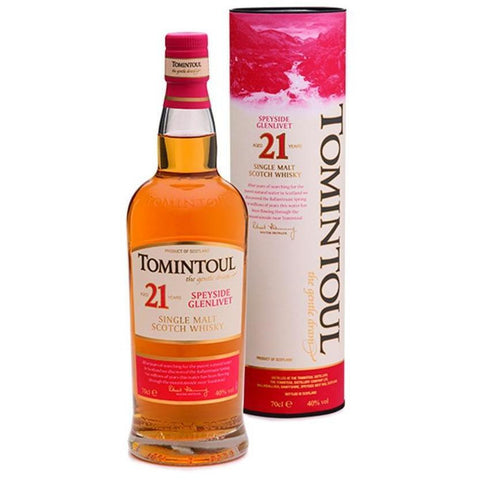 Tomintoul 21 Year Old Scotch Whisky