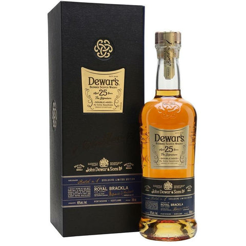 Dewars 25 Year Old Blended Scotch Whisky