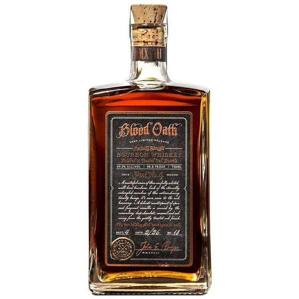 Blood Oath Bourbon Pact No.4