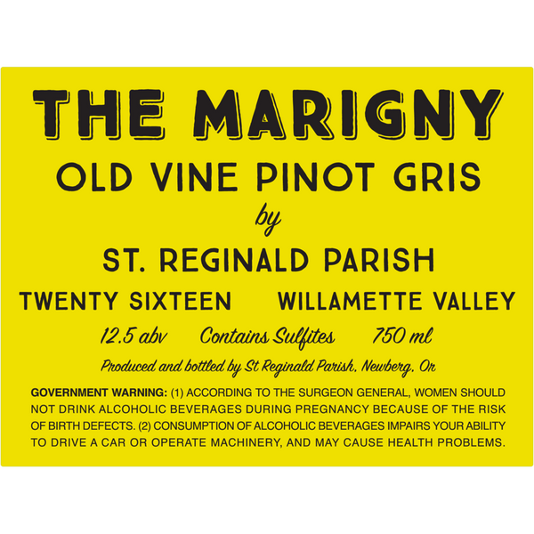 The Marigny Old Vine Pinot Gris