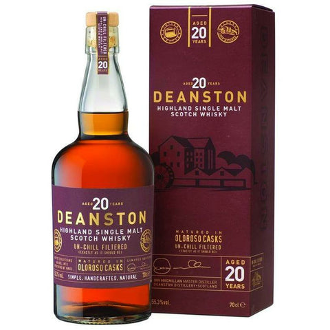 Deanston 20 Year Oloroso Single Malt Whisky