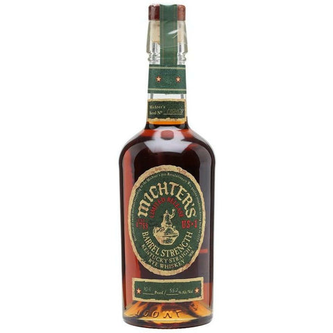 Michter's US*1 Barrel Strength Limited Release Rye  (2019 release)