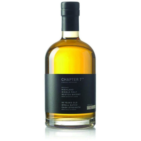 Chapter 7 Highland 19 Year Single Malt Scotch Whisky