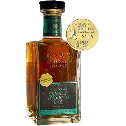 A.D. Laws Secale Single Barrel Straight Rye