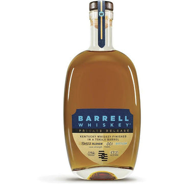 Barrell Whiskey Private Release BH02 Whiskey