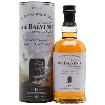 The Balvenie Scotch Single Malt 12 Year Toasted American