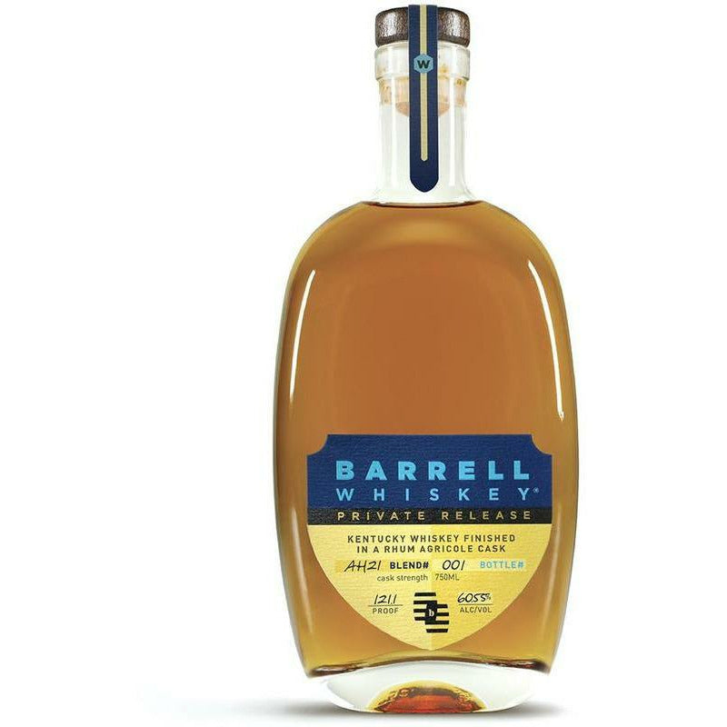 Barrell Whiskey Private Release AH21 Finished in Rhum Agricole Cask