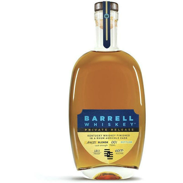 Preorder- Barrell Whiskey Private Release AH21 Finished in Rhum Agricole Cask