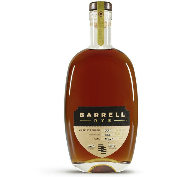 Barrell Rye Whiskey Batch 003