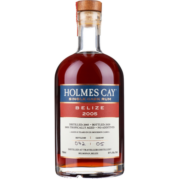 Holmes Cay Single Cask Rum - Belize 2005