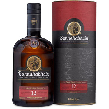 Bunnahabhain 12 Year Single Malt Scotch