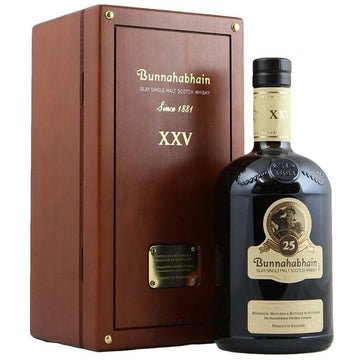 Bunnahabhain 25 Year Single Malt Scotch