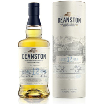 Deanston 12 Year Old Single Malt Scotch