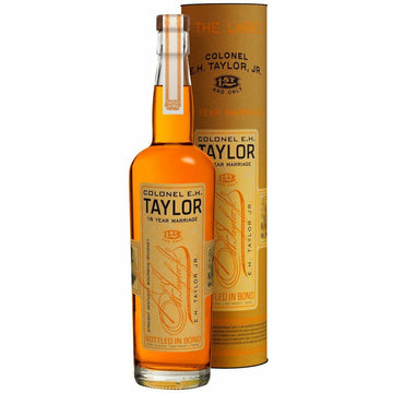 Colonel E.H. Taylor Jr. 18 Year Marriage Bottled in Bond Bourbon