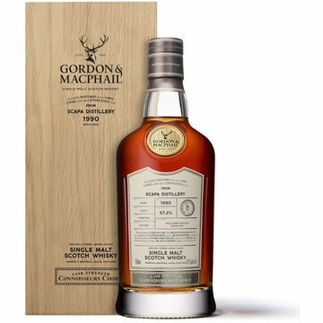 Gordon & MacPhail Connoisseurs Choice - Scapa 1990 Single Malt Scotch