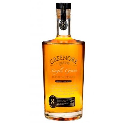 Greenore Irish Single Grain Small Batch Whiskey 8 Year