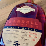 Barrell Bourbon G630 for Dark Spirits Society