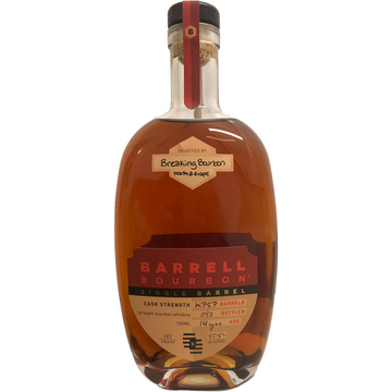 Breaking Bourbon x Barrell Bourbon Single Barrel K757