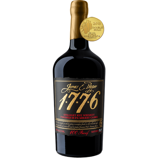 "James E. Pepper ""1776"" Straight Rye Finished in Sherry Casks"