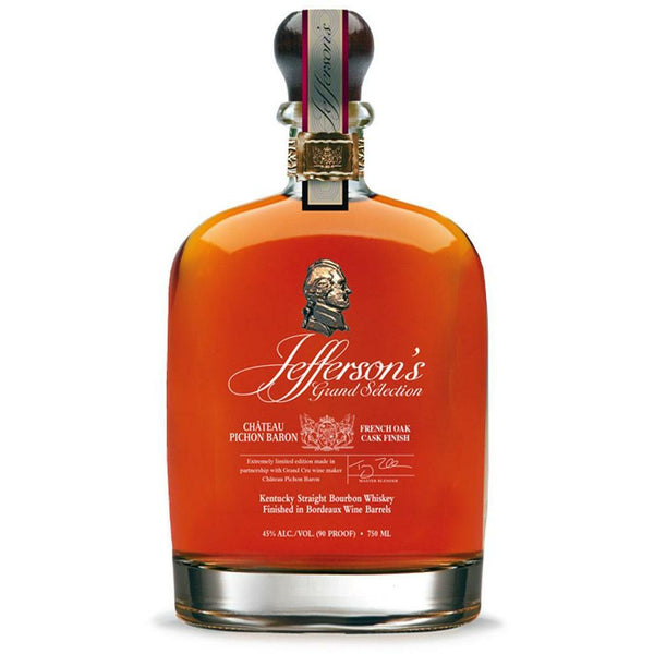 Jefferson's Bourbon Grand Selection Chateau Pichon Baron Cask Finish