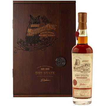 "Kentucky Owl ""Dry State"" Bourbon Whiskey"