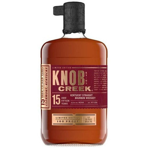 Knob Creek 15 Year Old Bourbon Whiskey