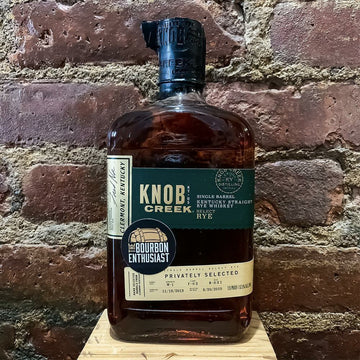 Bourbon Enthusiast x Knob Creek Rye Single Barrel Selection