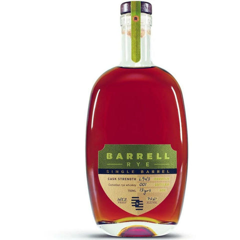 Barrell Single Barrel Rye L943