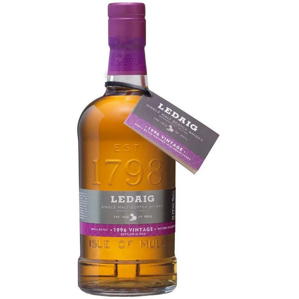 Ledaig 19 Year Old Single Malt Scotch Whisky 1996