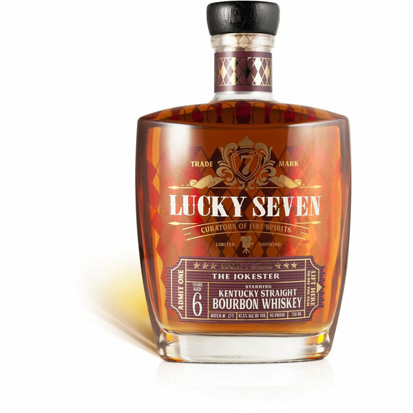 "Lucky Seven ""The Jokester"" 6yr Kentucky Straight Bourbon Whiskey"