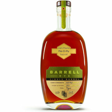 "Joe's Playlist Track #7 ""Pie-O-My""  Barrell 7-year-old Indiana Rye Single Barrel M770"