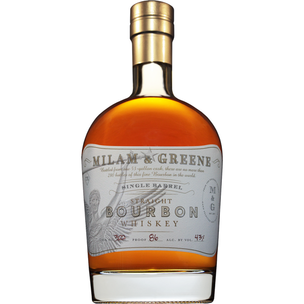 Milam and Greene Single Barrel Straight Bourbon Whiskey