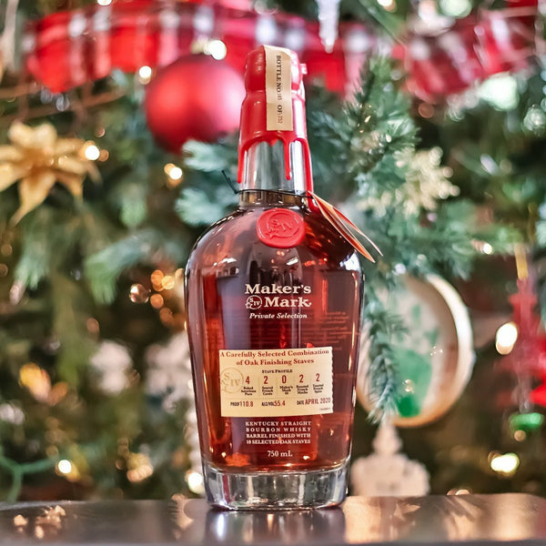 Bourbon Enthusiast x Maker's Mark Private Select 2 (Winter Pick)