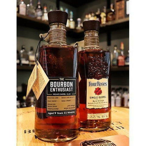 Bourbon Enthusiast x Four Roses Single Barrel Bourbon (OESF KE44)