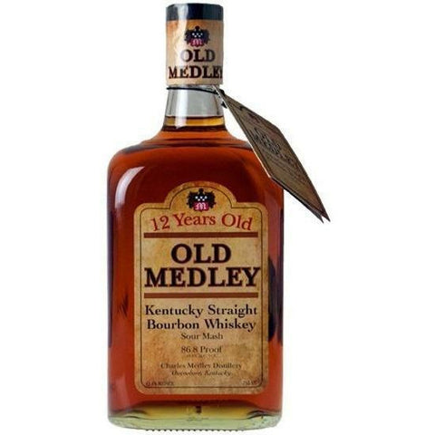 Old Medley 12 Year Bourbon Whiskey