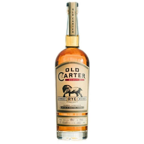 Old Carter Straight Rye Whiskey Batch 5