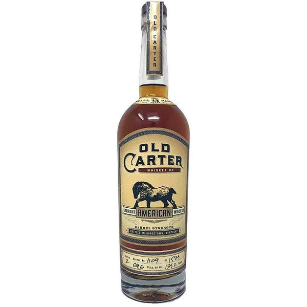 Old Carter 12 Year American Whiskey Batch 2