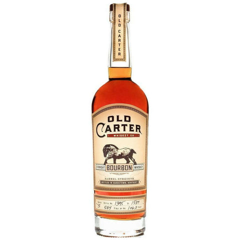 Old Carter Straight Bourbon Whiskey Batch 3