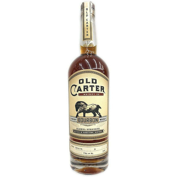 Old Carter Straight Bourbon Whiskey Batch 5