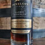 Bourbon Enthusiast x Penelope Bourbon by the Barrel Private Select