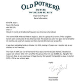 Old Potrero 7 Yr Straight Rye Private Barrel