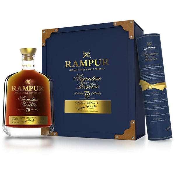 Rampur Signature Reserve Indian Single Malt Whisky